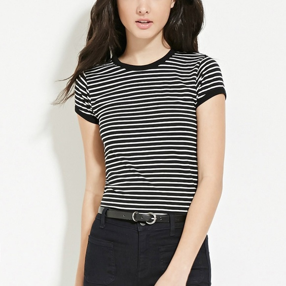 Forever 21 Tops - Striped shirt